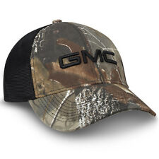 GMC Realtree Hardwoods Camo and Black Mesh Hat