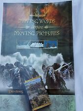 Lord of the Rings LOTR Library Book Poster Moving Words Inspire Moving Pictures