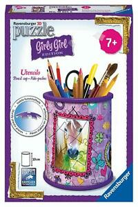 Ravensburger 3D Puzzle Girly Girl Edition Horse Pencil Cup 10cm *FREE SHIPPING*