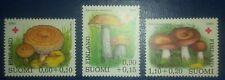 Travelstamps: 1980 Finland Stamps, MNH Red Cross - Mushrooms - Scott B221-223