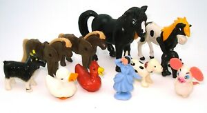 1960'S VINTAGE TOY COLLECTION - MIXED GROUP HORSES, NOVELTIES ETC  V