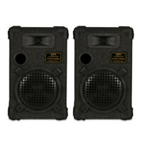 "GOLDWOOD DPI-800C/8 Passive 8"" Speaker Pair Monitor Studio Home Audio"