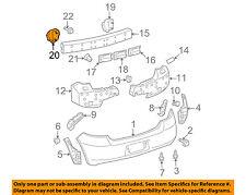 TOYOTA OEM 07-11 Yaris Rear Bumper-Mount Arm Left 5218252080