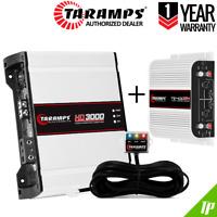 Taramps HD 3000 1 Ohm Amplifier 3K Watts + TS 400x4 2 Ohms + 3-Day Delivery