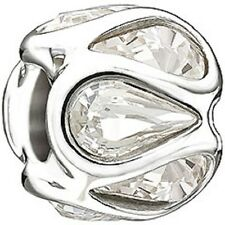 Chamilia Clear Swarovski Embrace Bead 2025-0936 NEW Authentic
