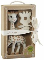 SOPHIE THE GIRAFFE NATURAL TEETHER SET Baby Teether Toy BN