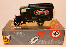 CORGI TOYS CLASSICS THORNYCROFT VAN 929 GAMLEYS LIMITED EDITION 1985 1/43 IN BOX