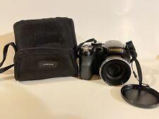 Fujifilm FinePix S Series S2800HD 14.0MP Digital Camera - Black with case -clean