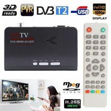 HDMI Satellite Receiver VGA/AV Tuner TV Box DVB-T DVB-T2 For LCD/CRT Monitors