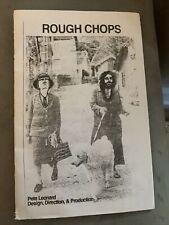 Rare Zine ROUGH CHOPS Pete Leonard King Stapede FUCT Ssdd L.i.e.s
