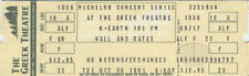 HALL & OATES 1981 Unused Concert Ticket Greek Theatre