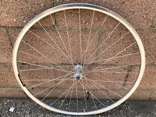 Classic 700c Mavic SUP Road bike wheel White Industries Hub Bicycle Front Rim
