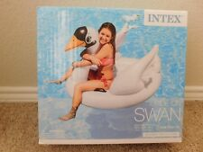 Brand new in the box Intex Swan inflateable ride-on pool float