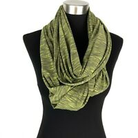 Lucy Women's Green Space Dye Infinity Scarf