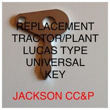 TRACTOR/PLANT UNIVERSAL LUCAS TYPE IGNITION KEY