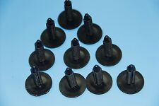AUDI A6 A8 BLACK FIR TREE SIDE SKIRT PANEL DOOR BUMP SUPPORT CLIPS 10PCS