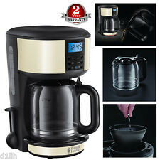 Russell Hobbs 20683 Electric 10 Cup Legacy Digital Filter Coffee Maker - Cream