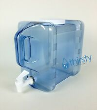 2 Gallon Bottle Refrigerator Drinking Water w/ Spigot Container Jug Dispenser