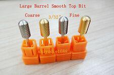 4 pcs New carbide Smooth Top Bit electric nail file drill bit ceramic - shiyudie