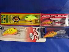4 Wobbler ProFi Bass, Zeolith, Bandit, strike King Spinnfischen Bass, Hecht A2