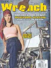 (NEW) BIKER PRESENTS WRENCH MOTORCYCLE MAGAZINE NOVEMBER 2014 #9