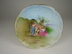 Antique Russian Empire Porcelain Plate Kuznetsov
