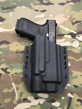 Black Kydex Holster for Glock 19 23 32 Surefire X300 Ultra B Model