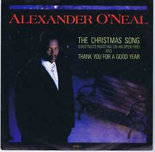 "Alexander O'Neal ‎– The Christmas Song (Chestnuts Roasting On An Open  7"" Vinyl"