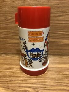 Vintage Disney on Parade Lunchbox Thermos Only Aladdin Circus