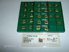 """CPGM 32.50, GP50, """"TOOL-FLO"""" CARBIDE TURNING INSERT, 10 PIECES"""