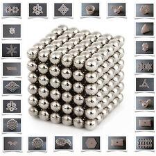 3mm 216pcs Magnetic Balls Magic Beads EDC Cube Sphere Magnet DIY 3D puzzle+BAG