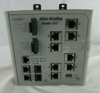 Allen Bradley 1783-MS10T STRATIX 8000 ETHERNET MANAGED SWITCH- FOR PARTS ONLY