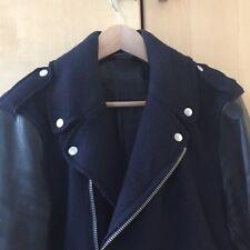 SALE   Acne Studios Perfecto Leather Wool Biker Jacket 48a14ecf7b1