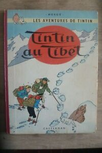 "Tintin au Tibet Edition Originale 1960 B29 mention ""redoutable"" TBE"