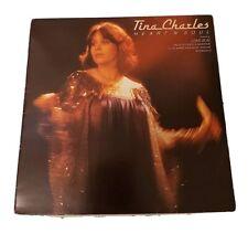 TINA CHARLES LP ~ HEART 'N' SOUL~ VINYL EXCELLENT ~ CBS S82180