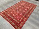 """Vintage Rug 7'9""""x4'8"""" Nomadic Afghan Baloch Rug Best Wool oriental beloch rug"""