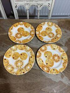 Emma Bridgewater 4x Oranges Marmalade Plate 22 cm