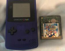 Nintendo Game Boy Color Handheld Game Console - Purple