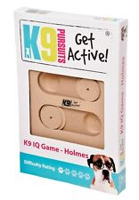 Pet Dog IQ Interactive Intelligence Toy, Wooden Game, K9, Holmes, 1/5 Difficulty