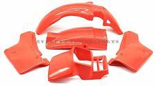 Plastic Body Kit Honda XL600 R Flash Orange/Red Fenders Side Panels Shroud #O197