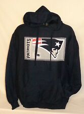 NEW ENGLAND PATRIOTS NFL FOOTBALL SUPER BOWL PULLOVER JERSEY HOODY XL HOODIE