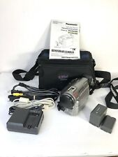 Panasonic Pv-Dv400D Digital Palmcorder with Case, Manual, Charger, Rca A/V & Vga