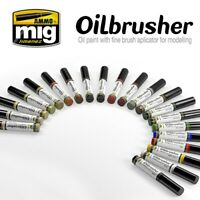 Ammo by Mig Oilbrushers (Choose your Oilbrusher Colour)