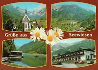 GRUSSE aus SEEWIESEN POSTCARD - MULTIVIEWS - GREETINGS from AUSTRIA - NEW