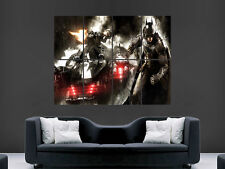 BATMAN ARKHAM ART WALL LARGE IMAGE GIANT POSTER !!!!