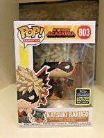 KATSUKI BAKUGO SDCC 2020 CONVENTION EXCLUSIVE FUNKO POP MY HERO ACADEMIA #803