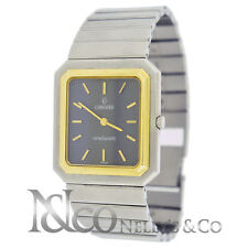Concord Mariner SG Two Tone 18K Yellow Gold Stainless Steal Square Unisex Watch