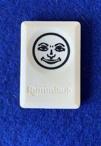 SPARE REPLACEMENT RUMMIKUB BLACK JOKER GAME TILE, MOTIF BACK