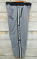 Rocawear Big & Tall Mens 3XL Grey Zipper Pocket Sweat Jogger Pants New