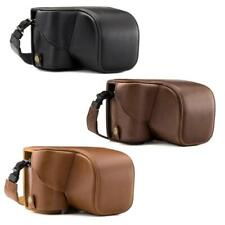 """MegaGear """"Ever Ready"""" Leather Camera Case for Sony Alpha a6300 ILCE-6300, a6000"""
